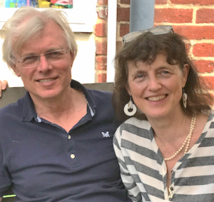 Ruud Baanders en Bridget Belgrave